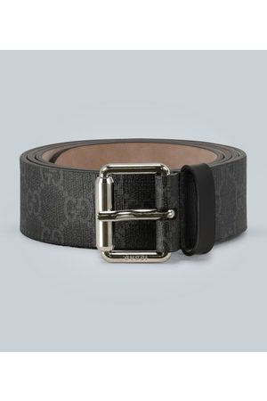 Gucci GG belt with Kingsnake print