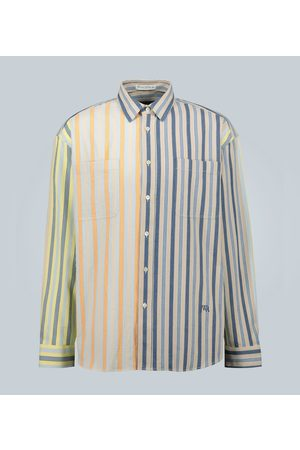 J.W.Anderson Parasol oversized striped cotton shirt