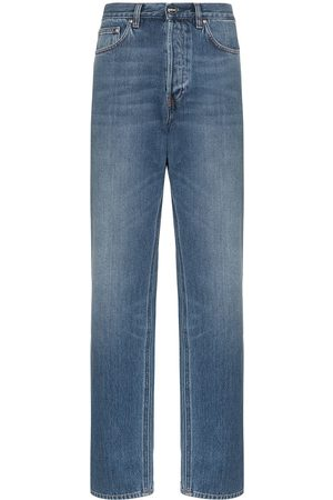 Totême Women High Waisted - Ease high-waisted straight-leg jeans