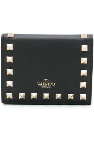 VALENTINO GARAVANI Rockstud logo wallet
