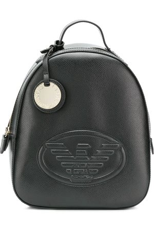 Emporio Armani Women Rucksacks - Embossed logo backpack
