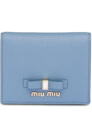 Miu Miu Embellished bow wallet