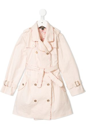 Velveteen Girls Trench Coats - Taylor pleated trench coat