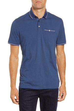 Ted Baker Men's Tortila Slim Fit Tipped Pocket Polo