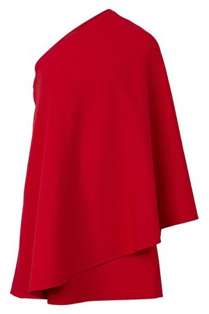 VALENTINO Short asymmetrical dress