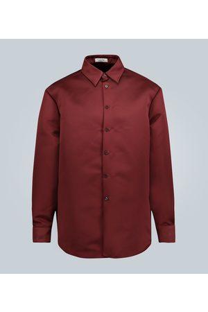 VALENTINO Long-sleeved duchesse shirt