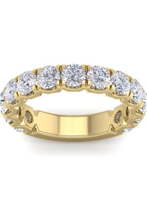 SuperJeweler 2.5 Carat Round Shape Diamond Wedding Band in 14K (5 g) (