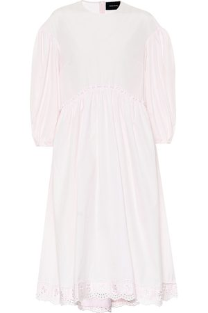 Simone Rocha Cotton-poplin dress