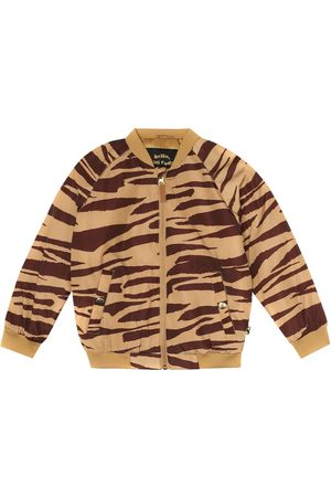 Mini Rodini Tiger-printed bomber jacket