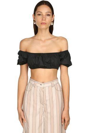 SUNNEI Women Strapless Tops - Off-the-shoulder Crop Top