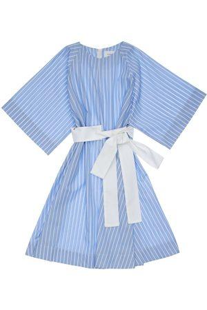 Unlabel Stripe Cotton Poplin Dress