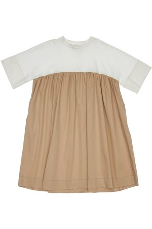 Unlabel Cotton Interlock & Polplin Dress