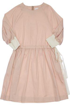Unlabel Stretch Cotton Blend Dress