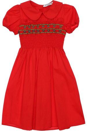 VIVETTA Girls Dresses - Stretch Cotton Poplin Dress