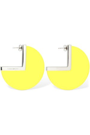 Isabel Marant New Asphalt Big Hoop Earrings