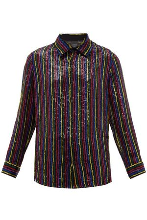 ASHISH Sequin-embellished Chiffon Shirt - Womens - Multi