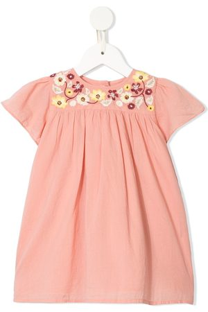 Velveteen Baby Casual Dresses - Skye embroidered floral dress