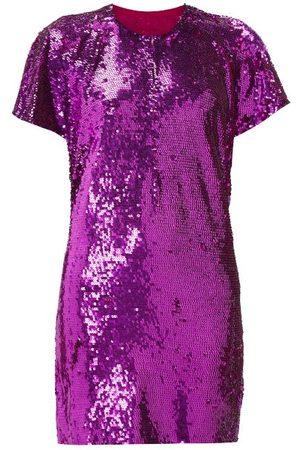 ASHISH Cutout-back Sequinned Mini Dress - Womens