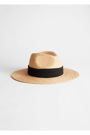 & OTHER STORIES Ribbon Brim Woven Straw Hat