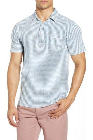 Faherty Men's Stripe Polo