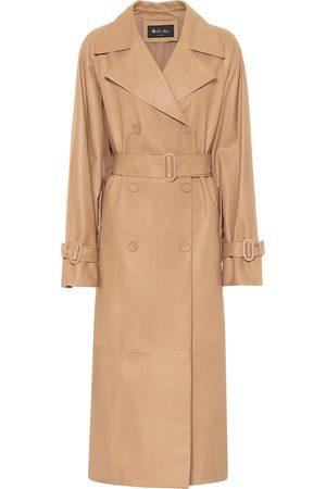 Loro Piana Bridger leather coat