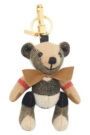 Burberry Thomas Bear check key chain