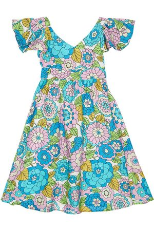 DODO BAR OR Flower Print Viscose Dress