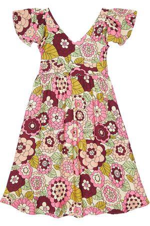 DODO BAR OR Flower Print Viscose Dress