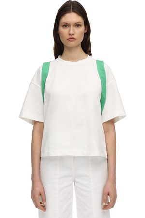 AMBUSH Cotton T-shirt W/corset