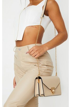 PRETTYLITTLETHING PU Envelope Cross Body Bag