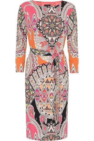 Etro Printed stretch-jersey midi dress