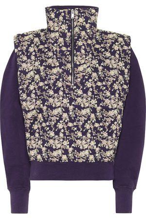 Isabel Marant, Étoile Naira floral cotton-blend sweatshirt