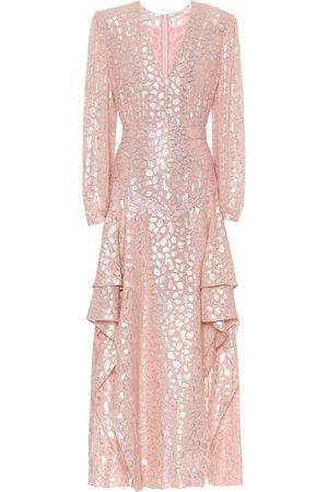 Stella McCartney Fil coupé gown