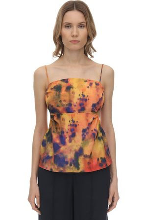 Rokh Printed Twill Top
