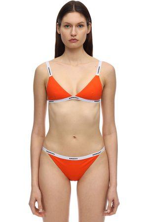 Burberry Lycra Bikini W/ Logo Band