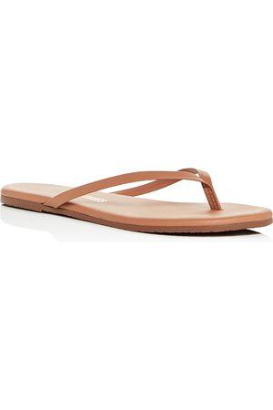Tkees Women's Foundations Leather Flip-Flops