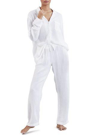 The White Company Women's Double Cotton Pajamas