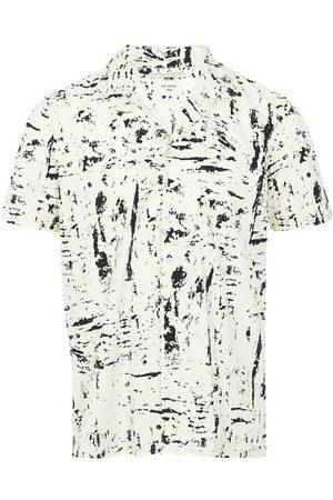 Bottega Veneta Printed shirt with short sleeves
