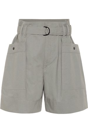Isabel Marant, Étoile Women Shorts - Zayna high-rise cotton shorts