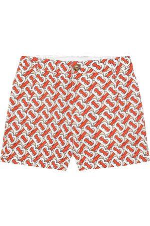 Burberry Desmond Monogram cotton shorts