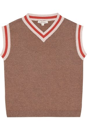 Caramel Boys Tank Tops - Embankment cotton vest