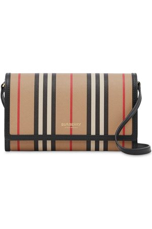 Burberry Icon Stripe crossbody wallet - Neutrals