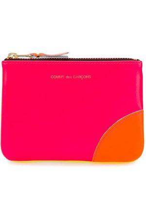 Comme des Garçons Wallets - Colour-block zipped wallet