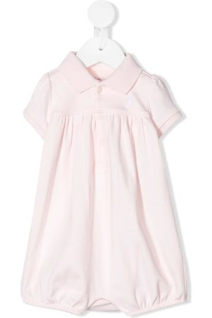Ralph Lauren Button collar Bubble shortie