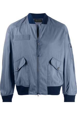 Mr & Mrs Italy Oversized-fit bomber jacket