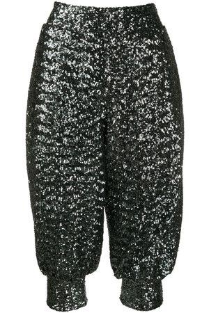 NO KA' OI Women Pants - Sequin harem trousers