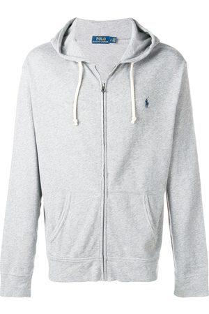 adidas Embroidered logo hoodie - Grey