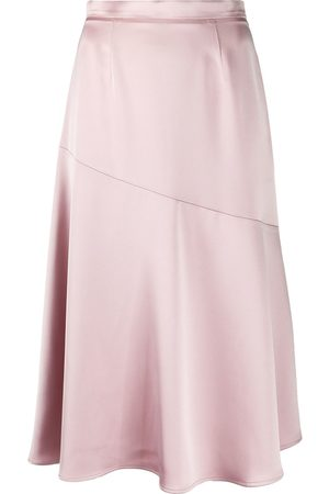 BLANCA Women Mini Skirts - Giada satin mini skirt