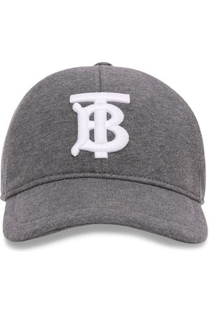 Burberry Women Caps - Embroidered baseball cap - Grey