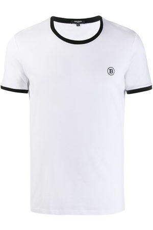 Balmain Logo embroidered T-shirt